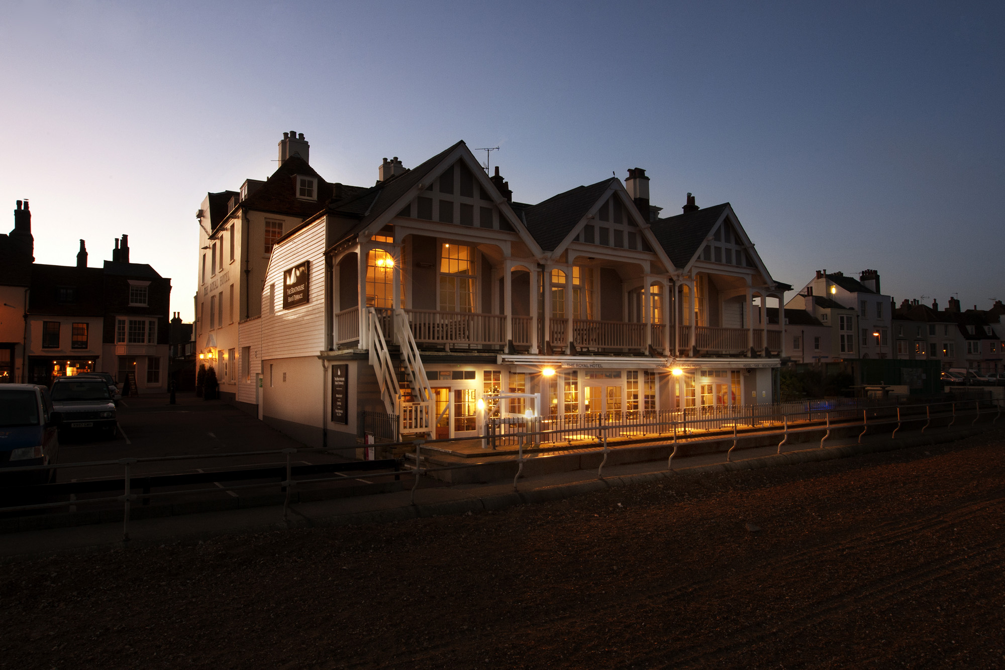 Royal Hotel, Deal - Exterior